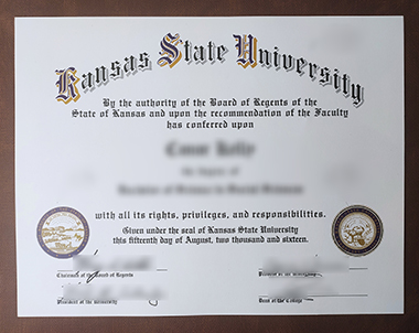 如何购买堪萨斯州立大学的文凭?