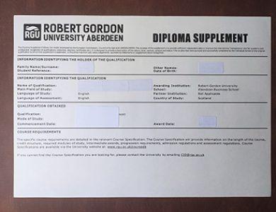 购买罗伯特·戈登大学的文凭要注意什么?