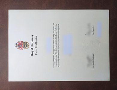 哪里可以买到伦敦大学皇家霍洛威学院的文凭?