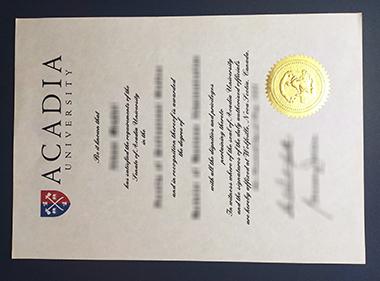 Buy Acadia University degree in Canada. 在加拿大哪里可以买到阿卡迪亚大学学位证书?