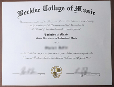 How to get Berklee College of Music certificate?如何获得伯克利音乐学院证书?