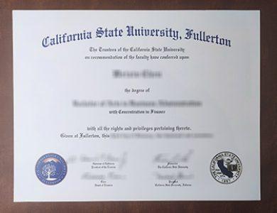 Buy California State University Fullerton degree, 如何获得加利福尼亚州立大学富勒顿分校学位证书?