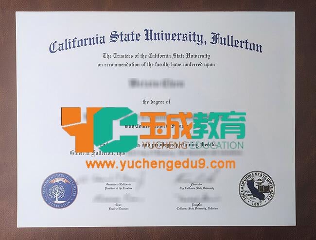 California State University, Fullerton degree