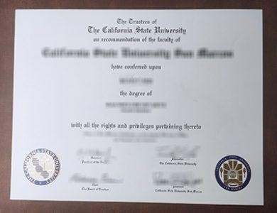 Buy California State University degree. 如何获得加州州立大学学位证书?