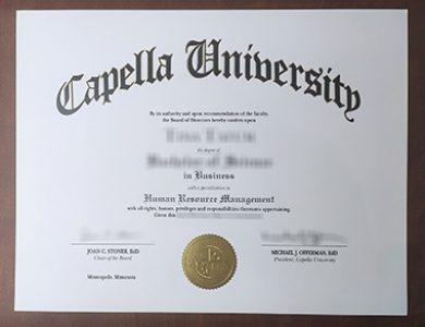 Buy Capella University degree. 哪里能买到卡佩拉大学学位证书?