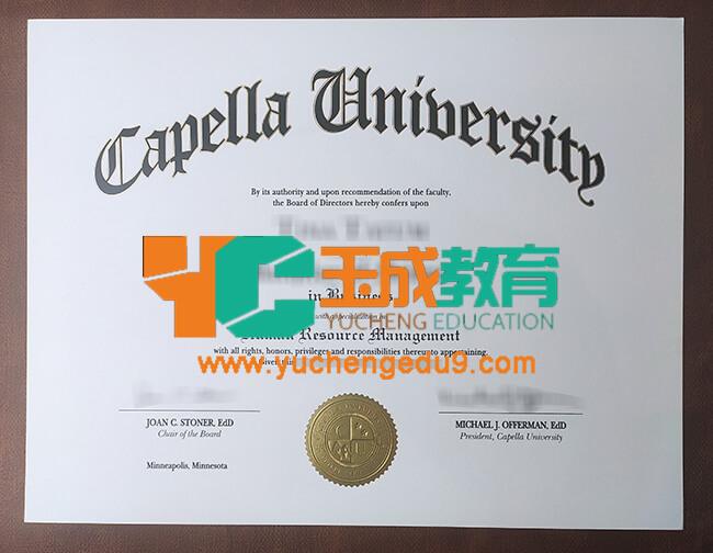 Capella University degree