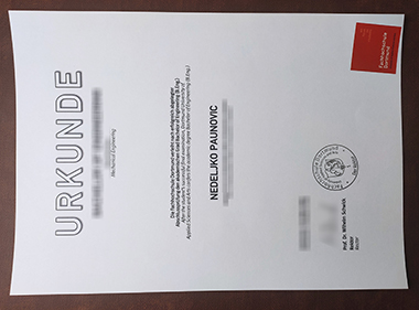 Buy Dortmund University of Applied Sciences and Arts certificate. 如何购买多特蒙德应用科技大学证书?