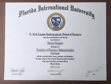 Buy Florida International University degree. 快速获得佛罗里达国际大学学位证书