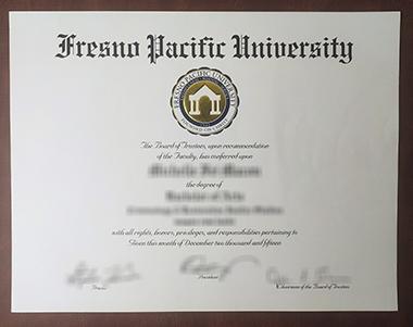 Buy Fresno Pacific University degree. 我要怎样才能买到弗雷斯诺太平洋大学学位?