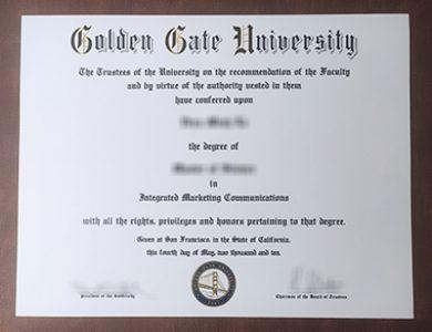 Buy Golden Gate University degree. 如何获得金门大学学位证书?