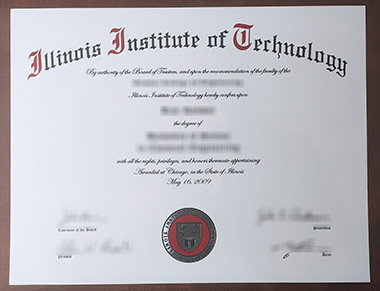 Where to buy a fake Illinois Institute of Technology degree? 哪里可以买到伊利诺伊理工学院学位?