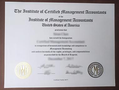 Buy Institute of Certified Management Accountants certificate. 在哪里可以获得注册管理会计师协会证书?