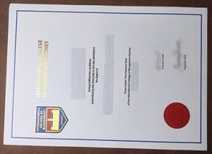 International College of Management Sydney diploma