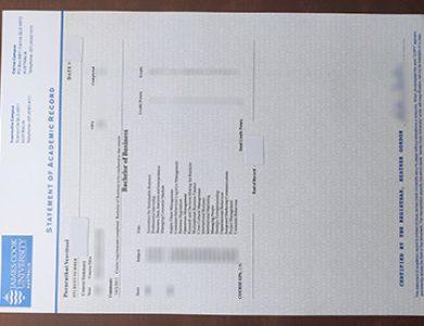 How to buy a fake James Cook University academic transcript? 怎样买到一个詹姆斯·库克大学假成绩单?