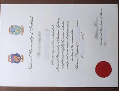 How to buy National University of Ireland fake diploma? 如何买到爱尔兰国立大学假文凭?
