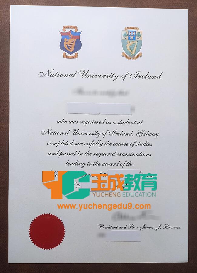 National University of Ireland diploma