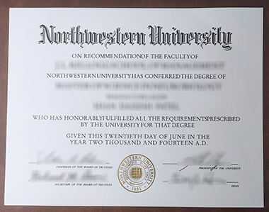 How to buy Northwestern University degree? 怎样获得西北大学学位?