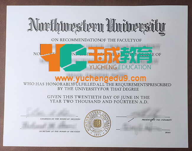 Northwestern University degree