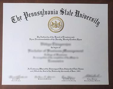 Buy a fake Pennsylvania State University degree, 如何购买一个宾夕法尼亚州立大学学位?