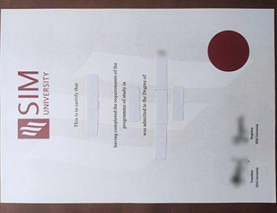 Buy SIM University degree. 如何买到SIM大学学位?