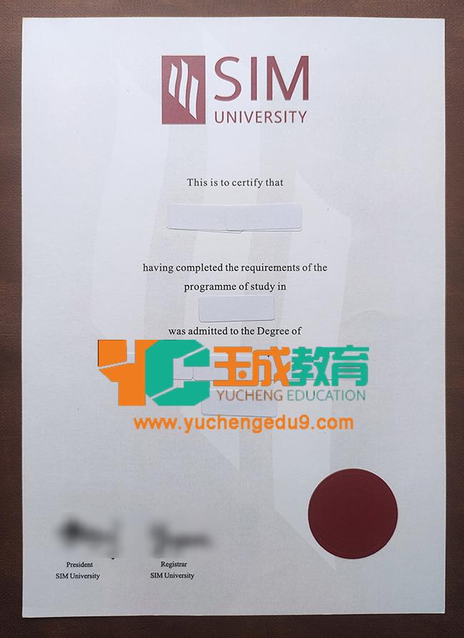 SIM University degree