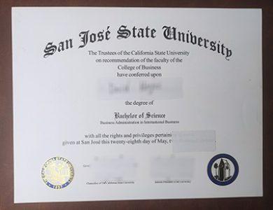 Buy San Jose State University degree, 快速获得圣何塞州立大学学位