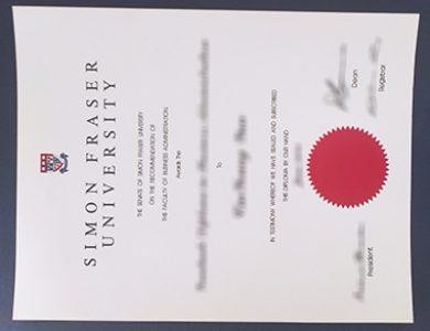 Buy Simon Fraser University diploma. 如何购买西蒙弗雷泽大学文凭?