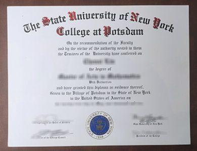 Buy State University of New York at Potsdam degree. 怎样获得纽约州立大学波茨坦分校学位证书?
