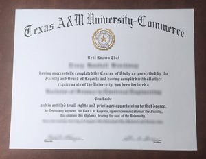 Texas A&M University–Commerce degree