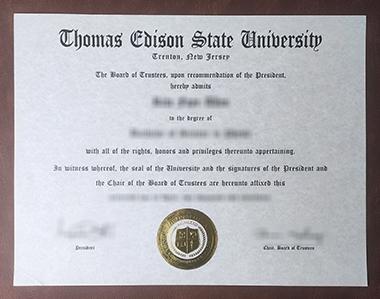 Buy fake Thomas Edison State University degree, 怎样买到托马斯·爱迪生州立大学学位?