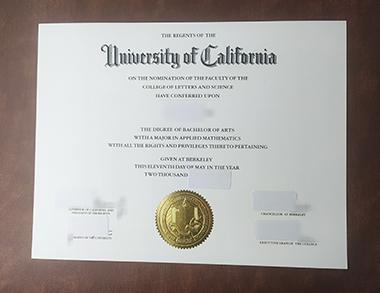 Buy University of California degree. 如何快速获得加州大学学位证书?