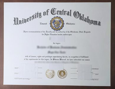 Buy University of Central Oklahoma degree. 如何快速获得俄克拉荷马中央大学学位证书?