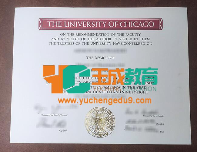 University of Chicago degree