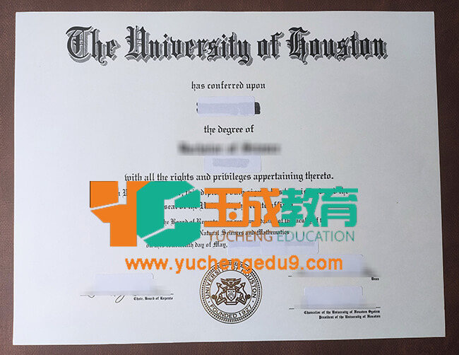 University of Houston diploma
