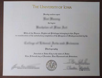 Buy University of Iowa degree. 如何快速获得爱荷华大学学位?