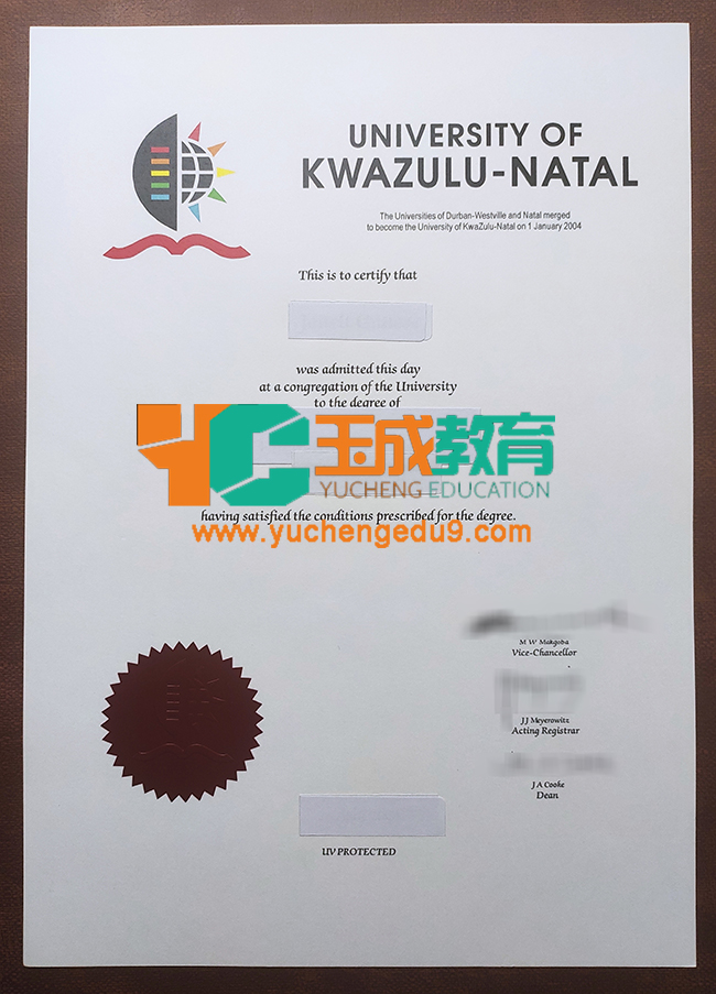 University of KwaZulu-Natal degree