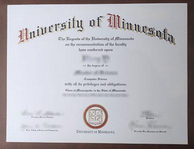 Buy University of Minnesota degree. 哪里能买到明尼苏达大学学位证书?