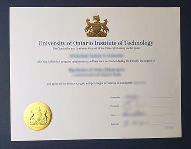 Buy University of Ontario Institute of Technology degree. 怎样获得安大略工业大学学位证书?