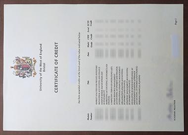 去哪里买西英格兰大学,布里斯托尔的证书?