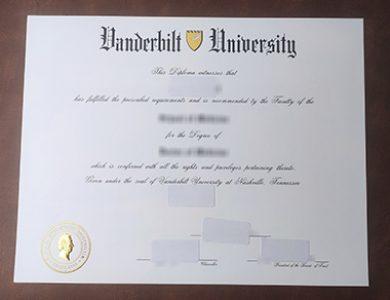Buy Vanderbilt University degree, 哪里可以买到范德比尔特大学学位证书?