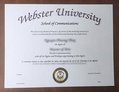 Buy Webster University degree. 如何获得韦伯斯特大学学位证书?