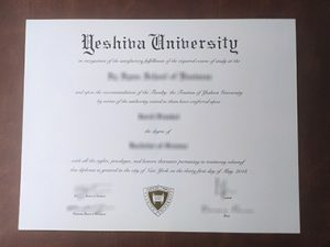Yeshiva University degree