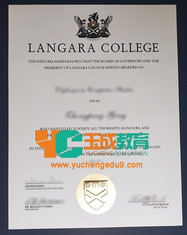 Langara College degree