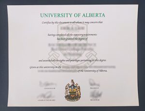 University of Alberta degree