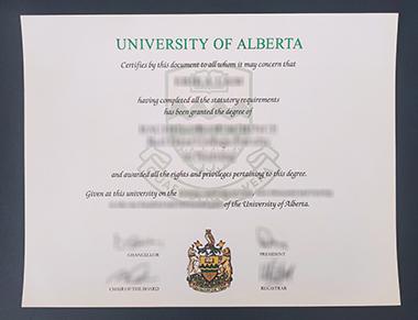 Buy University of Alberta degree. 如何获得艾伯塔大学学位证书?