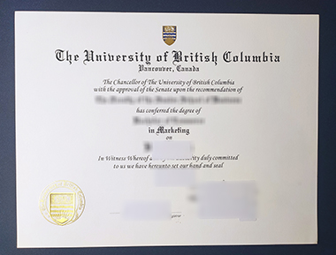 Buy University of British Columbia degree. 怎样购买不列颠哥伦比亚大学学位证书?