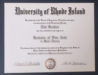 Buy University of Rhode Island degree. 怎样获得罗德岛大学学位证书?