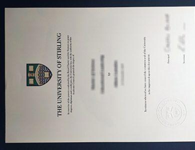Buy University of Stirling degree. 如何获得斯特灵大学学位证书?