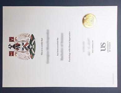 Buy University of Sussex certificate. 如何购买萨塞克斯大学证书?