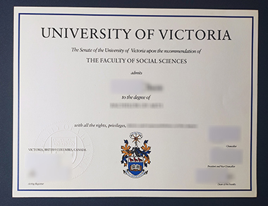Buy University of Victoria degree. 如何买到维多利亚大学学位证书?